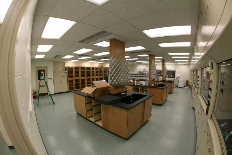 Lehigh University Vicic Lab - New Lab, whole view from door