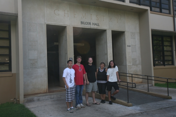 Lehigh University Vicic Lab - Group from 2008