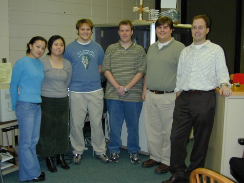 Lehigh University Vicic Lab - ca 2003