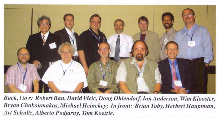 Lehigh University Vicic Lab - ACA meeting 2004